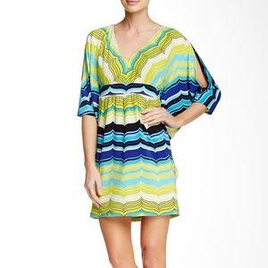 TRINA TURK Multicolor Seren Dress Sz.10